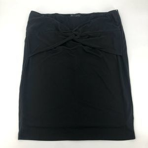 Eloquii Black Mini Skirt 20